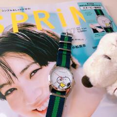 雑誌/付録/雑誌付録/スヌーピー/時計/腕時計/... mimikoさんの投稿フォトを見て欲しく…