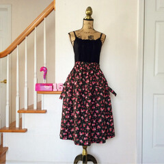 ハンドメイド/手作り/ミシン/スカート/ギャザースカート/コットン/... オトナ可愛い♡ギャザー切り替えのスカート