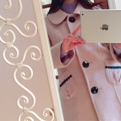 ファッション/洋服/オーバーコート/コート/LDprime/アウター/... 数年前のLDprime桜ピンク色♡ 20…