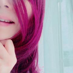 自撮り/フォト/写真/加工アプリ/笑顔/オリジナル/... 今日の58歳♡自撮り 加工アプリでピンク…