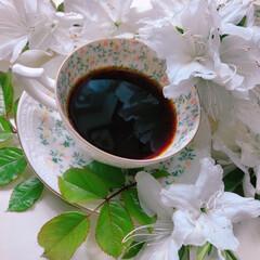 おうちカフェ/コーヒー/珈琲/ドリップコーヒー/カップ/カップアンドソーサー/... おうちカフェ♡ハンドドリップ♡コーヒー♡…