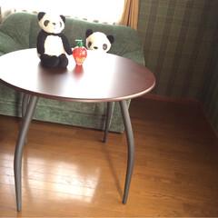 テーブル/天板 直径90㎝の 天板★   高さ脚の長さは…