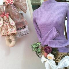 ユニクロ/UNIQLO/セーター/ニット/ファッション/カラー/... ユニクロ♡ハイネックのセーター♡ライトパ…