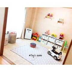 オーダーメイド/おもちゃ部屋/おもちゃ収納/子供部屋/DIY/雑貨/... 子供部屋♥︎