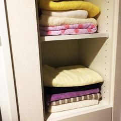 バスタオル/バスタオル収納 バスタオルが置けるスペースは便利ですよね