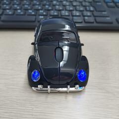 LED/ビートル/マウス/パソコン 仕事用のマウス、変えました😁 クラシック…(3枚目)