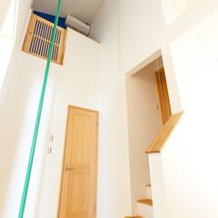 のぼり棒/屋根裏部屋 のぼり棒で屋根裏部屋への行き来が出来ます。