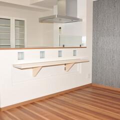 LDK/開放感/キッチン/コミュニケーション/オープンキッチン オープンキッチンとなりご家族とのコミュニ…