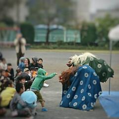子ども/大会/オープニング/イベント/囃子 土曜日、日曜日と息子達が所属する囃子連の…(1枚目)