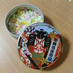 金平糖/土産/歌舞伎座 先日、お土産でいただいた金平糖🎶封を開け…