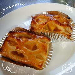 アップルパイ/🍎りんご/パイシート/新鮮/野菜 おはようございます🌄 週末冷凍庫にパイシ…(1枚目)