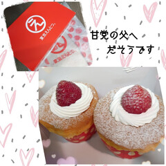リミ友/贈り物/ブルーベリー/カップケーキ/父の日 こんばんは(*´▽`*)ノ 夕方ピンポー…(3枚目)