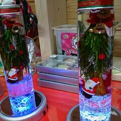 クリスマス/もみの木/サンタ/教室/プリザブドルフラワー/ハーバリューム 本日、プリザブドルフラワーの教室での作品…(7枚目)