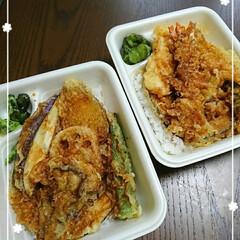 梨/野菜天丼/天丼 今日のお昼はてんやへGo≡Σ((૭ ᐕ)…