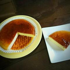 チーズケーキ 地味にチーズケーキを焼きました😅キットな…