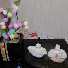 雛人形/出会い/リミ友/陶器/額装/器/... おはようございます 今朝は雨戸が凍りつい…(2枚目)