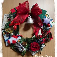 クリスマスリース/おしるこ クリスマスリース イベント用です プリザ…