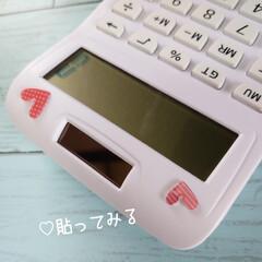 only one/電卓/300円商品/シール/お風呂用/ハル/... おはようございます٩(๑´O`๑)۶フワ…(2枚目)