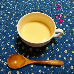 冷製スープ/バターナッツかぼちゃ ななママさんからおすそわけしてもらったハ…