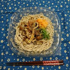 蕎麦/コンビニ/お昼ごはん これからお昼f(^_^; コンビニセブン…