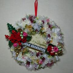 夜な夜な/飾り付け/プリザ/クリスマス 🎄クリスマス飾り 配置やっと出来ました^…(6枚目)