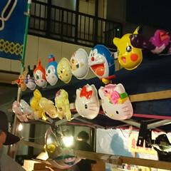行列/出店/お祭り お祭り付き物の出店(*^ー^)ノ♪ 可愛…
