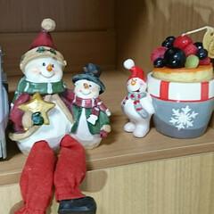 夜な夜な/飾り付け/プリザ/クリスマス 🎄クリスマス飾り 配置やっと出来ました^…(5枚目)
