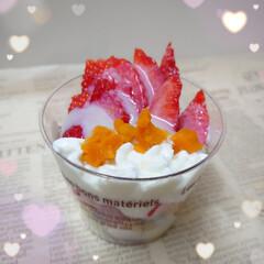 コンデンスミルク/イチゴ/切れ端/誕生日ケーキ おはようございます⁎ .。❀ * ૮₍´…(2枚目)