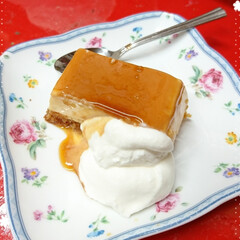 プリザーブドフラワー/プリザ教室/Xmasケーキ/生クリームケーキ/チョコレートケーキ/手作りケーキ/... 今年のXmasケーキはこちら! チョコレ…(6枚目)