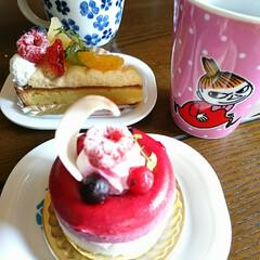 ケーキ/ホワイトデー/スイーツ/甘党大集合/お土産 ホワイトデーはいつものお店の🍰ケーキが定…(2枚目)