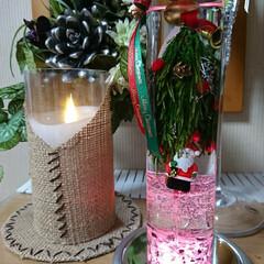 クリスマス/もみの木/サンタ/教室/プリザブドルフラワー/ハーバリューム 本日、プリザブドルフラワーの教室での作品…(1枚目)