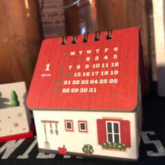 洗顔/プレゼント/カレンダー/雑貨/インテリア/クリスマス そして、お友達に頂いた🎁💕 カレンダーで…