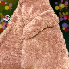 ティぺット/編み物/100均/キャンドゥ/ハンドメイド/ファッション 今日はティペット編みました〜〜😊 何か、…