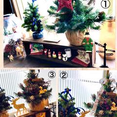 リース/オーナメント/松ぼっくり/クリスマス2019/リミアの冬暮らし/雑貨/... やっと放置してた🎄飾り付けしました☺️ …(3枚目)