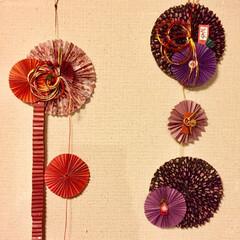 ネックウォーマー/編み編み大好き/お正月/お飾り/2018/ハンドメイド/... 今年?昨年?のお飾り🎍 さて、今年も早く…