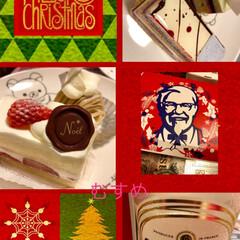 ピスタチオ/おうち/クリスマス/グルメ/フード/スイーツ/... 昨日はお家でパパと2人でケンタッキー🎄 …(2枚目)