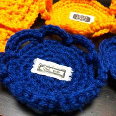 冬/大掃除/ハンドメイド/キッチン雑貨/雑貨/100均/... 冬といえば編み物‼️ 毎年、エコたわしを…