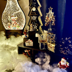 クリスマス/クリスマスインテリア/リビング/雑貨/照明/クリスマスツリー 🎄✨Merry X'mas✨🎄  今まで…