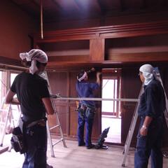 神棚/移設 既存の神棚を移設するのに一度解体していま…