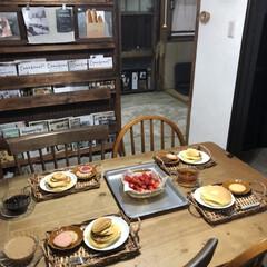 こどものいる暮らし/日々のこと/暮らし/カフェタイム/手作りパンケーキ/おうち時間/... 母の日とっても素敵な家族からのお祝い記念…(2枚目)