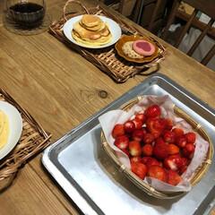 こどものいる暮らし/日々のこと/暮らし/カフェタイム/手作りパンケーキ/おうち時間/... 母の日とっても素敵な家族からのお祝い記念…(3枚目)