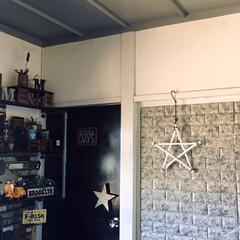 天井ペイント/100均リメイク/セリア/ダイソー/DAISO/デニムクッションカバー/... ずっと気になっていた天井。 古い和室にあ…
