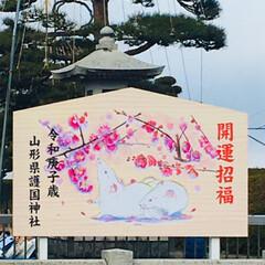 お正月/山形護国神社/初詣/お正月2020 * ੈ✩‧₊˚•*¨*•.¸¸* ੈ✩‧…