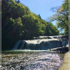 マイナスイオン/滝/暑さを避けに/おでかけ あまりに暑いので、水と涼を求めてお出かけ…