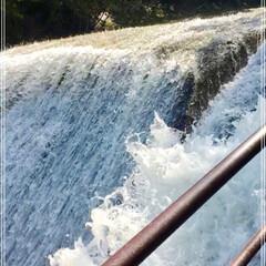 マイナスイオン/滝/暑さを避けに/おでかけ あまりに暑いので、水と涼を求めてお出かけ…(3枚目)