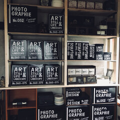 物置部屋/カラーボックス/壁面収納棚/LIMIAインテリア部/収納/雑貨/... おはようございます( ᵕᴗᵕ ) 物置部…