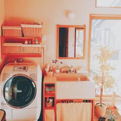 サニタリー/洗濯機/洗面所/水周り/ハンプティダンプティ/カインズホーム/... サニタリー。 我が家の場合は二階にあるの…