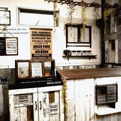 カフェ風/壁紙/簡単DIY/ナチュラル/アンティーク風/男前/... 1.改善したかった点  子供部屋をセルフ…