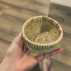 市川商店/南千住/籠/かご/竹籠/竹篭/... 枝豆用に買いました!
