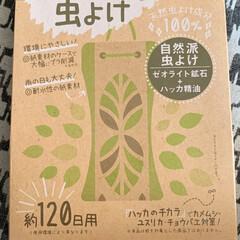 虫よけ/虫除け/住まい/おすすめアイテム/暮らし 新商品かな?  購入してみました。